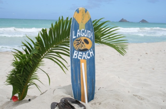 "Laguna Beach Surf Sign 40"""