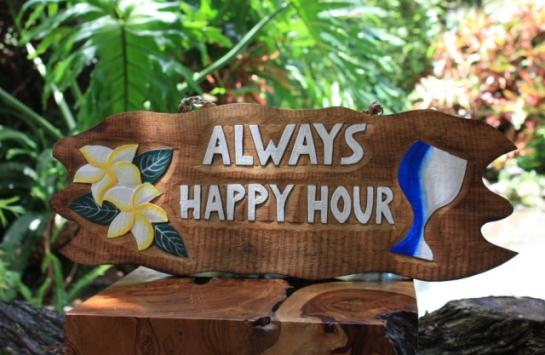 Always Happy Hour w/ Plumeria