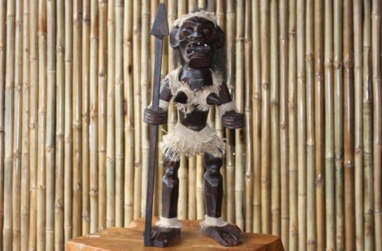 """Female Tiki Warrior 20"""""""